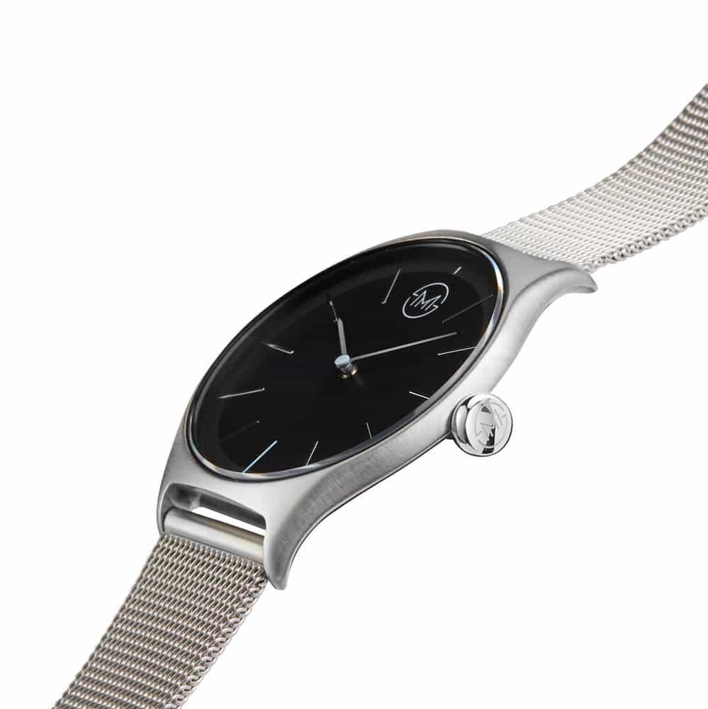 elegante armbanduhr slim made one 01 entwickelt in der schweiz. Black Bedroom Furniture Sets. Home Design Ideas